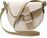 04-20 Бежевая женская сумка деловая декоративная пряжка 5902734917911