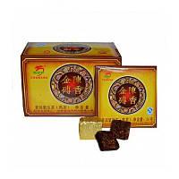 Чай Шу Пуэр Золотой прессованный (порционный) 400 г