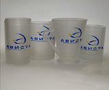 Чашки прозрачные матовые Frozen под деколирование, фото 8
