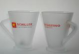 Чашки прозрачные матовые Frozen под деколирование, фото 9