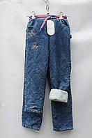 Джинс флис девочка опт со склада Одесса 7км джинс зима