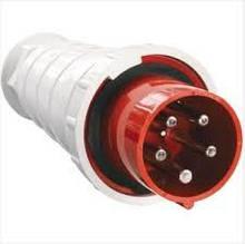 Вилка переносная. наружная 035 63А 380-415В54 контакта (3P+E+N) IP67