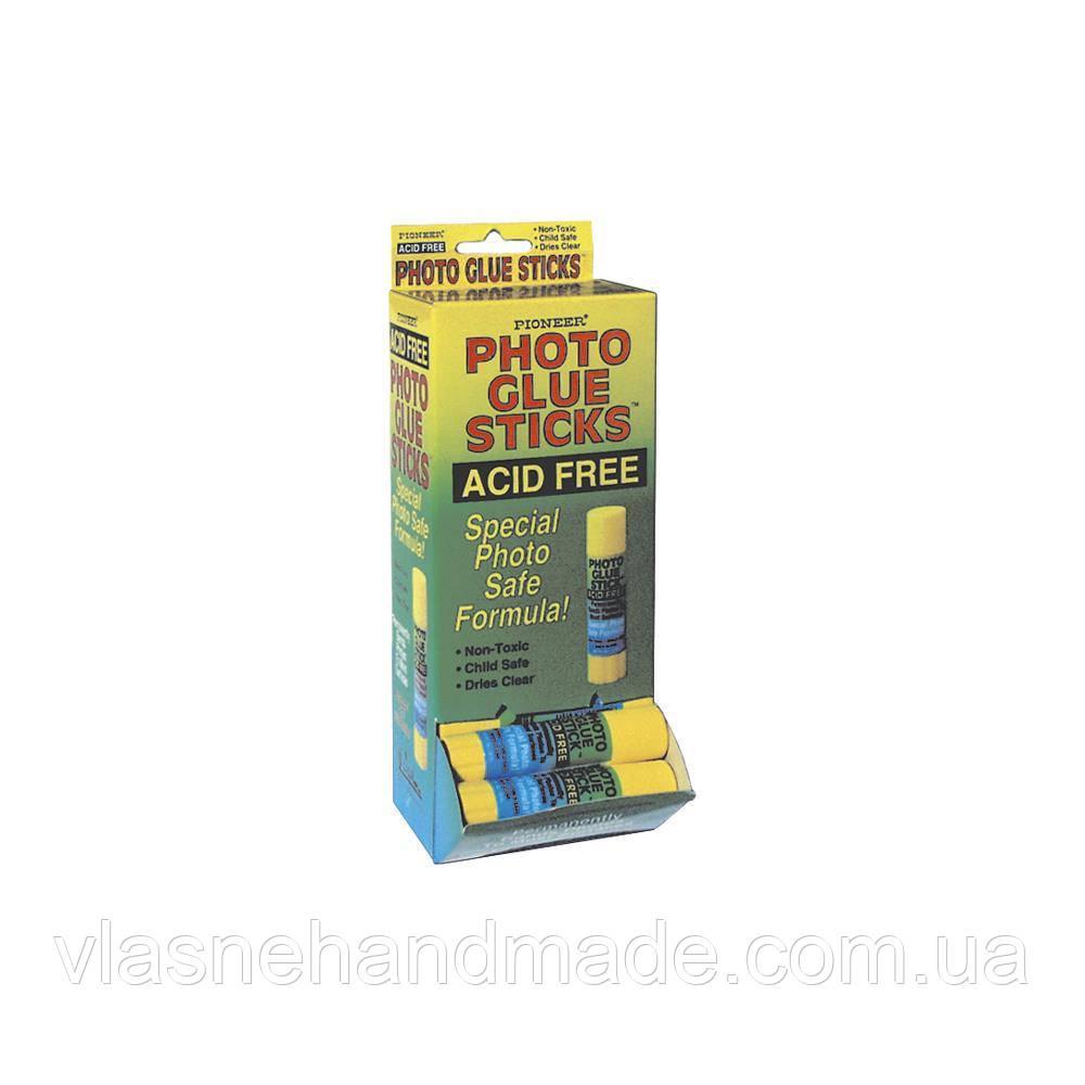 Клей-олівець для фото - Pioneer - Acid Free - 8г