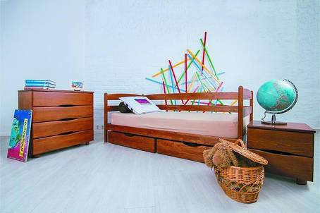 """Кровать односпальная Олимп """"Марио с ящиками"""" (90*200), фото 2"""