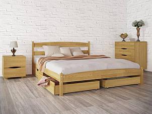 """Ліжко полуторне Олімп """"Ліка без ізножья з ящиками"""" (120*190), фото 2"""