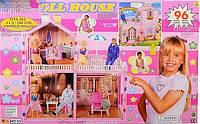 Кукольный домик для Барби N53 Doll House 96 деталей, фото 1