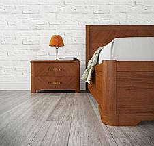 """Ліжко двоспальне Олімп """"Мілена з підйомним механізмом"""" (200*200), фото 3"""