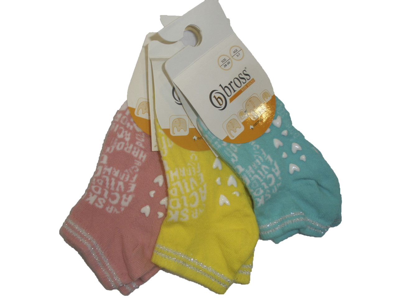 Носочки детские для девочек,пр-во.Турция: от 5 до 7 лет.