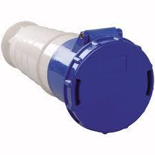 Розетка переносна 233 63А 220-250В 3 контакту (2P+E) синій