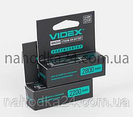 Аккумулятор Videx 2200mAh, 3.7V 18650-P Li-ion c ЗАЩИТОЙ!!!, фото 3