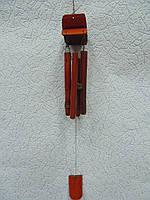 Музыка ветра деревянная 4 трубочки длина 51 см