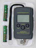 Весы электронные(кантер)до 40кг(10г) с батарейками-TDN