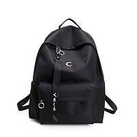 Уценка!Черный городской рюкзак Месяц