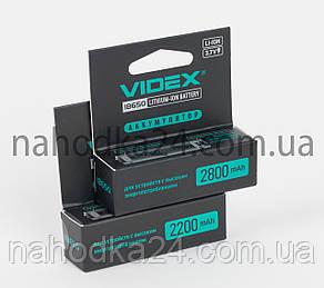 Аккумулятор Videx 2800mAh, 3.7V 18650-P Li-ion c ЗАЩИТОЙ!!!, фото 2