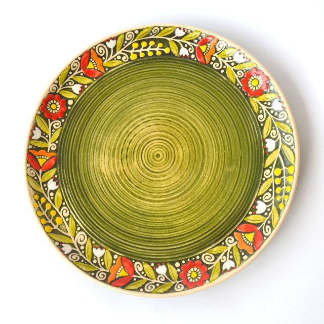 Керамическое блюдо 27 см - ФолкМаркет в Луцке