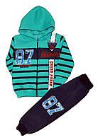 """Костюм детский спортивный """"87 Junior"""" из трикотажа с начесом, для мальчиков. размеры 3-4-5 лет"""