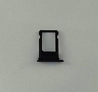 """Лоток для сим-карты для iPhone7 Plus (5,5"""") ЧЕРНЫЙ"""