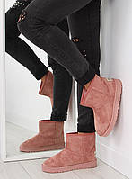 02-23 Розовые женские угги fc226 40,39,38,36,37