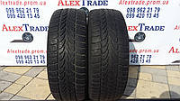 Б У зимние шины R16 215/55 Nokian W+, пара бу резины.