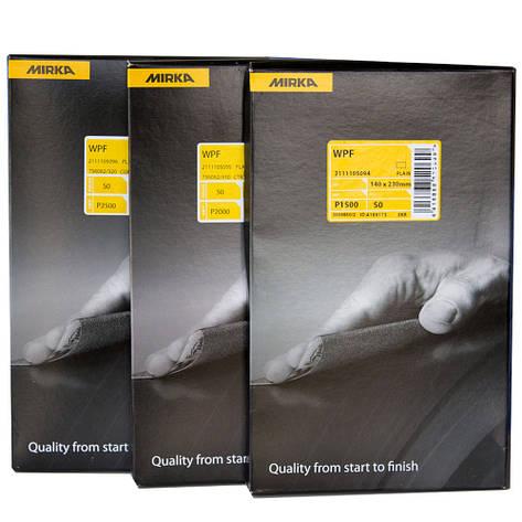 Наждачная водостойкая бумага Mirka (Мирка) WPF P500, фото 2