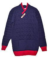 Детский модный свитер для мальчика подростка