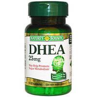 DHEA 25 мг Nature's Bounty, 100 таблеток
