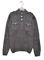 Детский теплый свитер для мальчика подростка