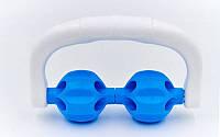 Массажер-ручной роликовый 2 шарика PS  MASSAGE ROLLER (пластик, l-17см,2 массажных шар.)
