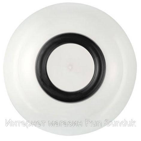 Глубокая не скользящая тарелка из тритана Palm Sorona, оранжевая 15 см черная