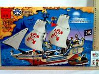 Конструктор лего BRICK пиратский корабль код: 311 пиратский корабль-