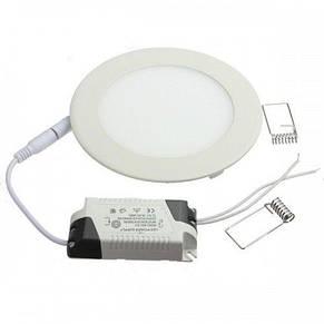 Светильник светодиодный встраиваемый Ledex 12W 960lm 3000К 170*13мм (102105), фото 3