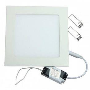Светильник светодиодный встраиваемый Ledex 6W 480lm 3000К 120*120*13mm (102110), фото 3