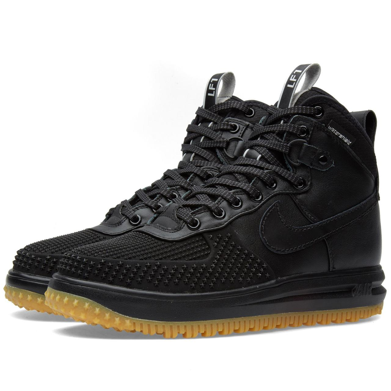 d31b846f Оригинальные кроссовки Nike Lunar Force 1 Duckboot Black - Sport-Sneakers -  Оригинальные кроссовки -