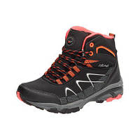 Черные мужские ботинки LXC7431-W BK/RD