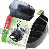 """Подставка для офисных принадлежностей Maped Essentials Green Compact """"KT"""" купить канцелярию оптом ZB-10"""