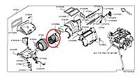 Nissan Leaf Мотор повітряпроводу