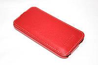 Кожаный чехол Tetded для HTC One Mini 2 красный