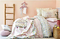 Постельное белье ранфорс Karaca Home Litzy подростковое