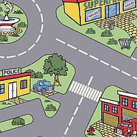 Детский линолеум Leoline Smart Bingo Traffic 50