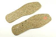 Стельки теплые для обуви войлок 4,5 мм