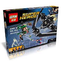 """Конструктор Lepin 07019 Super Heroes(аналог Лего 76046) """"Поединок в небе"""" 555 дет"""