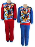 Пижама утепленная для мальчиков оптом PAW_BOY 2-6 лет.№ 832-340