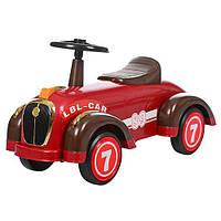 Детская каталка-толокар  для малышей ретро-машина 8209-3 BAMBI. МО.Гарантия качества. Быстрая доставка.