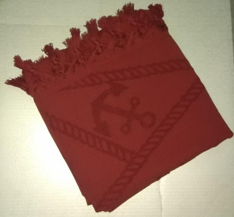 Tivolyo Home  полотенце ROPE  бордовый