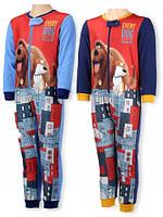Пижама утепленная для мальчиков оптом, Pets, 2-6 лет,  № 832-494