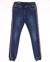 1014 Resalsa джогеры (27-33 молодежка, 7 ед.) осень стреч мужские джинсы, фото 1