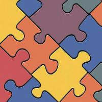 Детский линолеум Leoline Smart Bingo Puzzle Colour 50