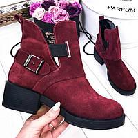 Стильные ботинки Diezzzl марсала