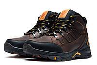 Ботинки зимние мужские Columbia TRACK, коричневые, кожаные, на меху, р. 40 42 43 45