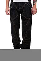 Джинсы мужские  L&D Jeans темно-синие
